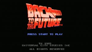 Back To The Future (NES) Game Hub