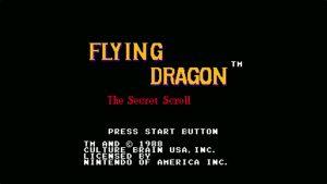 Flying Dragon: The Secret Scroll (NES) Game Hub