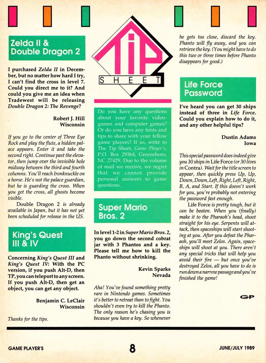 Game Players | June July 1989-8