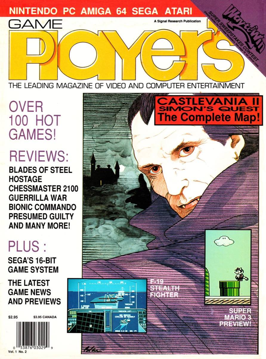 Game Player's | June July 1989 cover