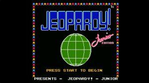 Jeopardy Junior Edition (NES) Game Hub