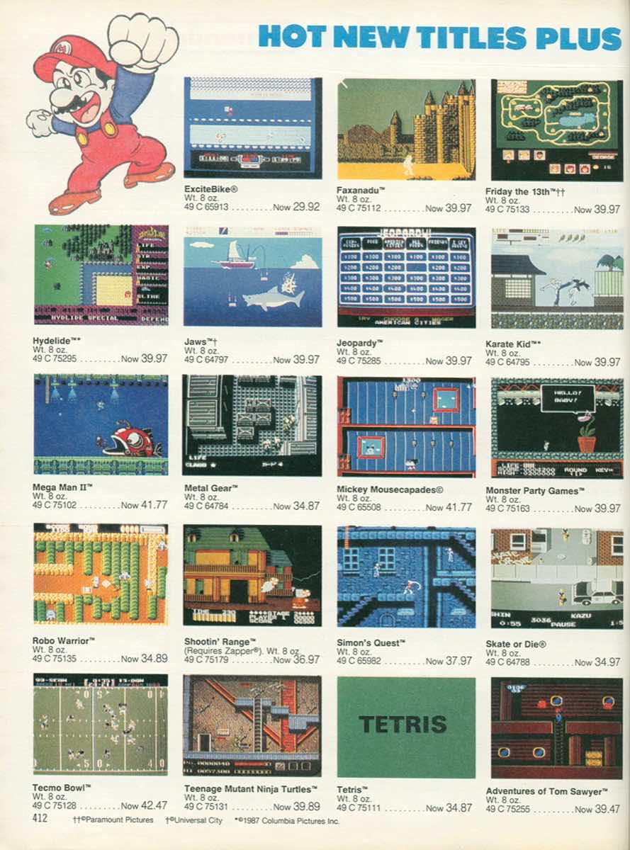 Sears Wishbook | Christmas 1989-p412