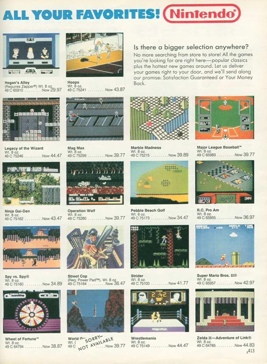 Sears Wishbook | Christmas 1989-p413