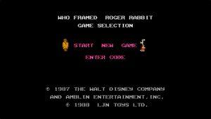 Who Framed Roger Rabbit (NES) Game Hub