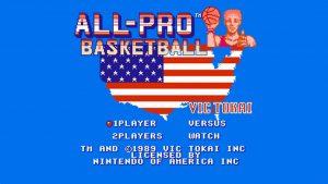 All-Pro Basketball (NES) Game Hub
