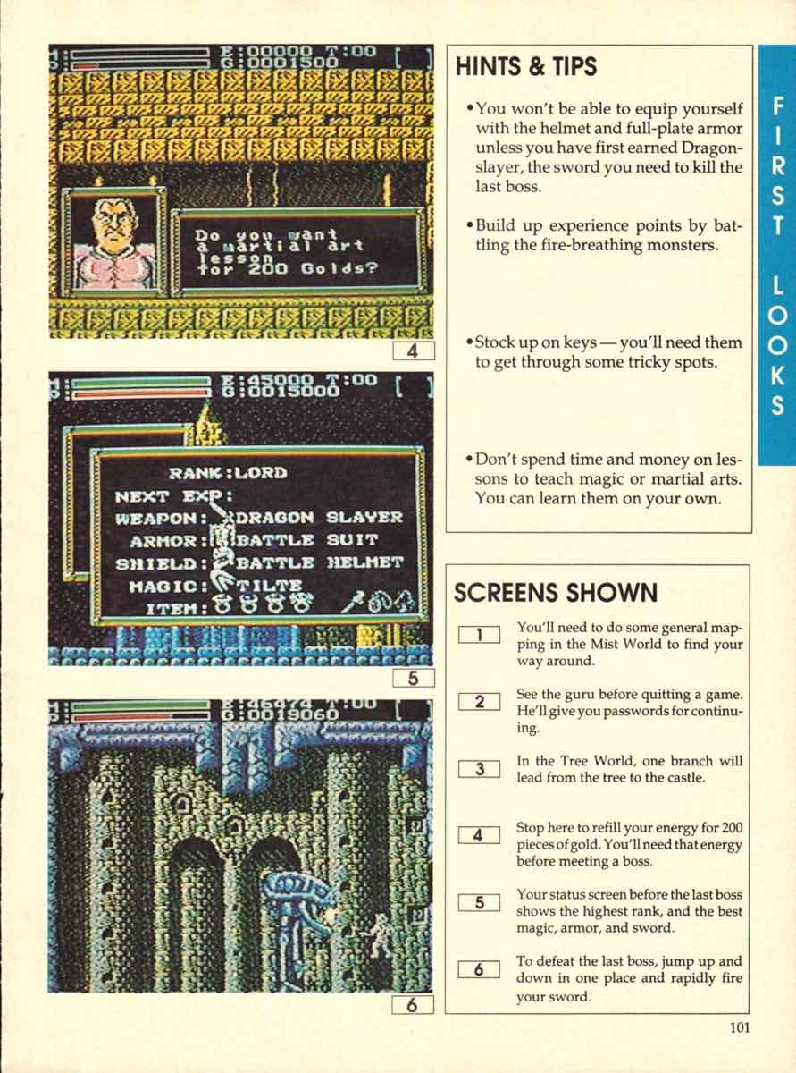 Game Players Buyers Guide To Nintendo Games | October 1989 pg-101