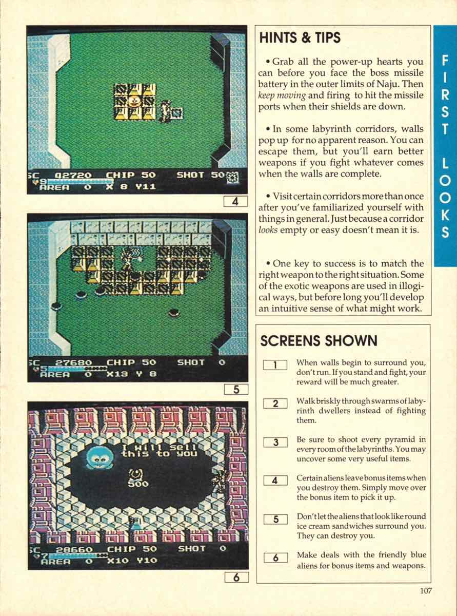 Game Players Buyers Guide To Nintendo Games   October 1989 pg-107