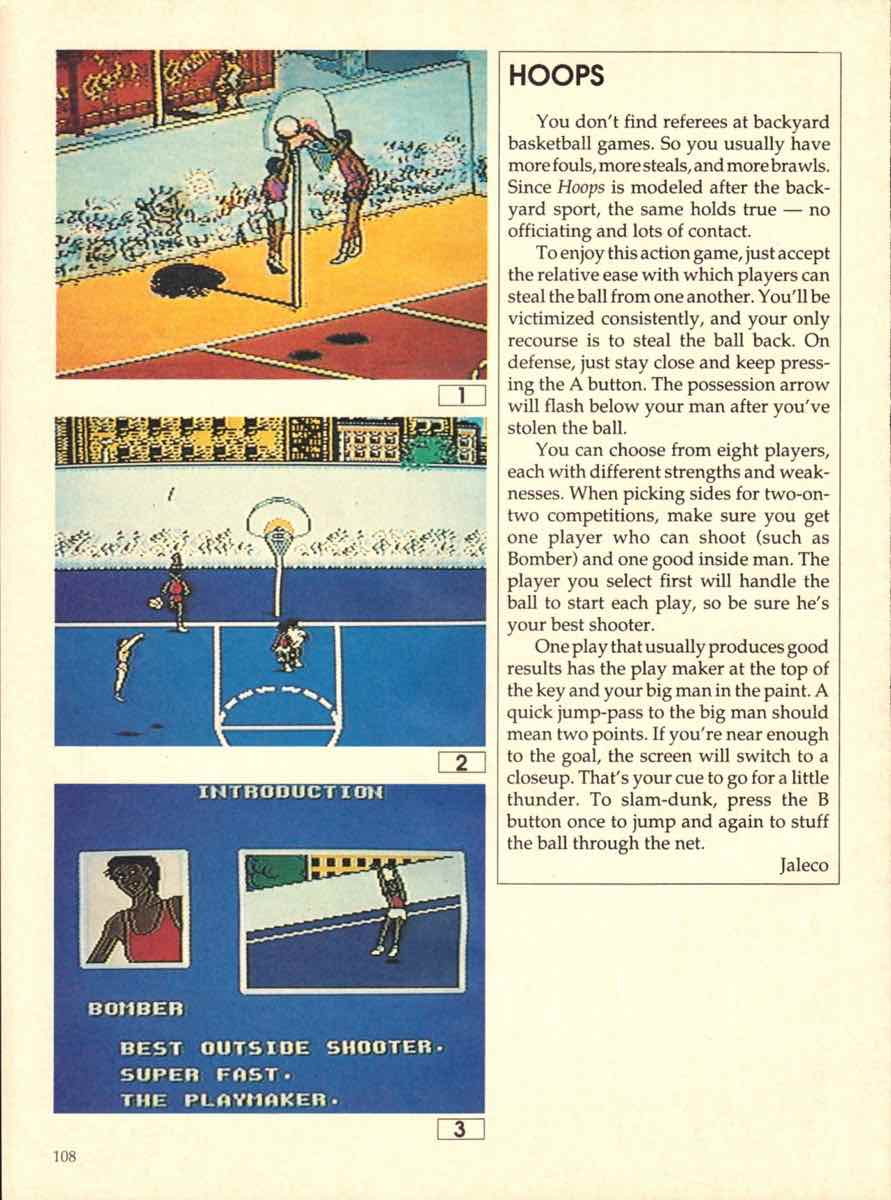 Game Players Buyers Guide To Nintendo Games   October 1989 pg-108