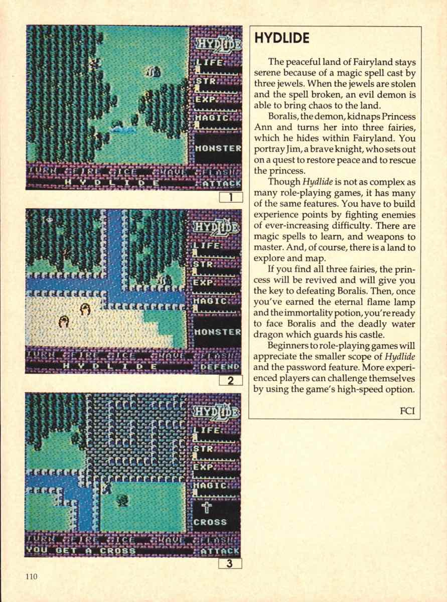 Game Players Buyers Guide To Nintendo Games   October 1989 pg-110