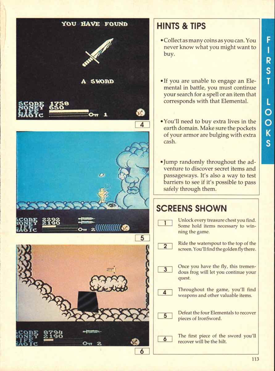 Game Players Buyers Guide To Nintendo Games | October 1989 pg-113