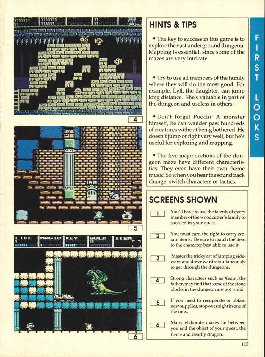 Game Players Buyers Guide To Nintendo Games   October 1989 pg-115