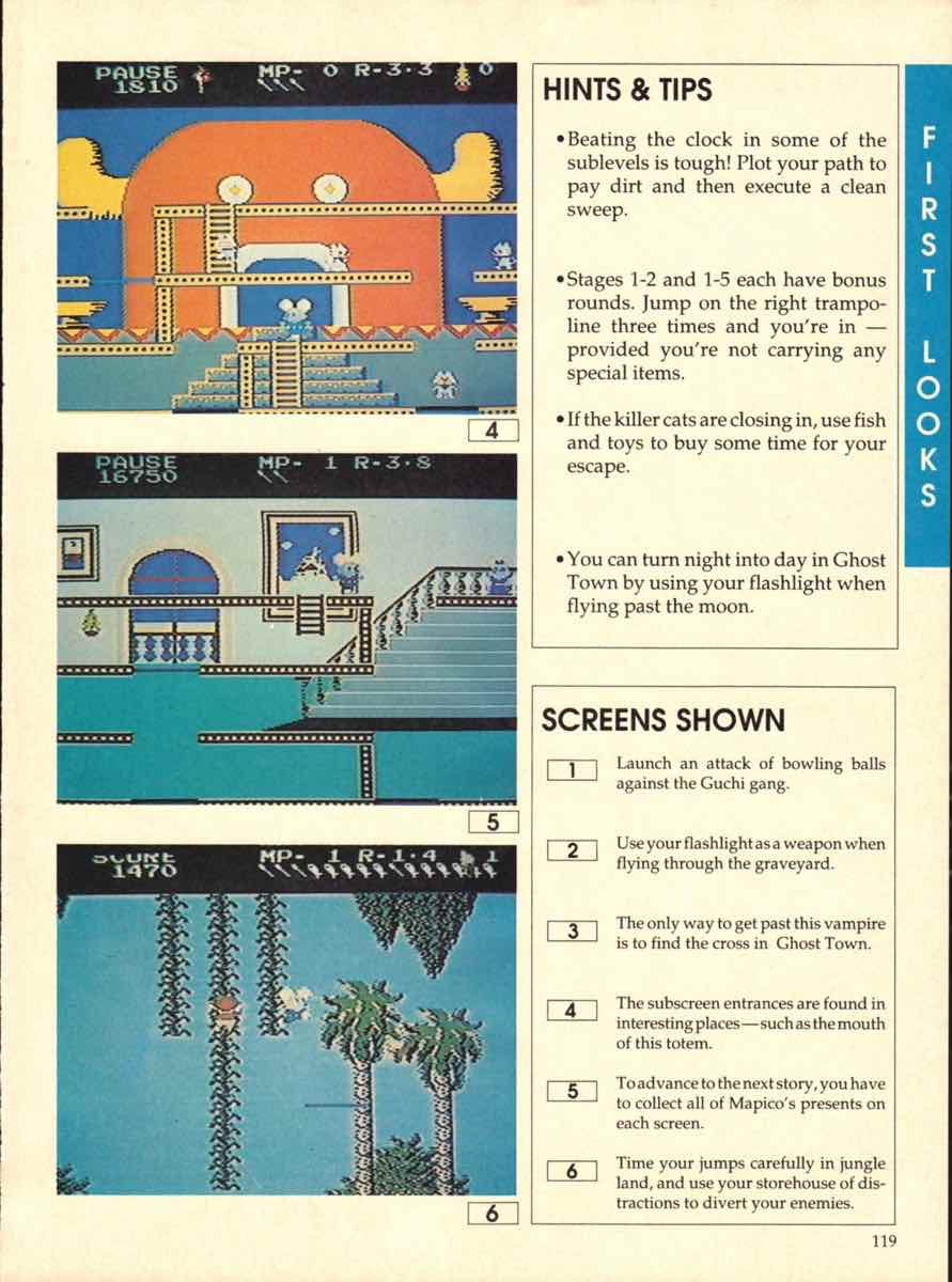 Game Players Buyers Guide To Nintendo Games | October 1989 pg-119