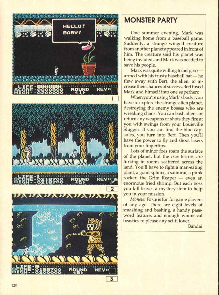 Game Players Buyers Guide To Nintendo Games   October 1989 pg-120