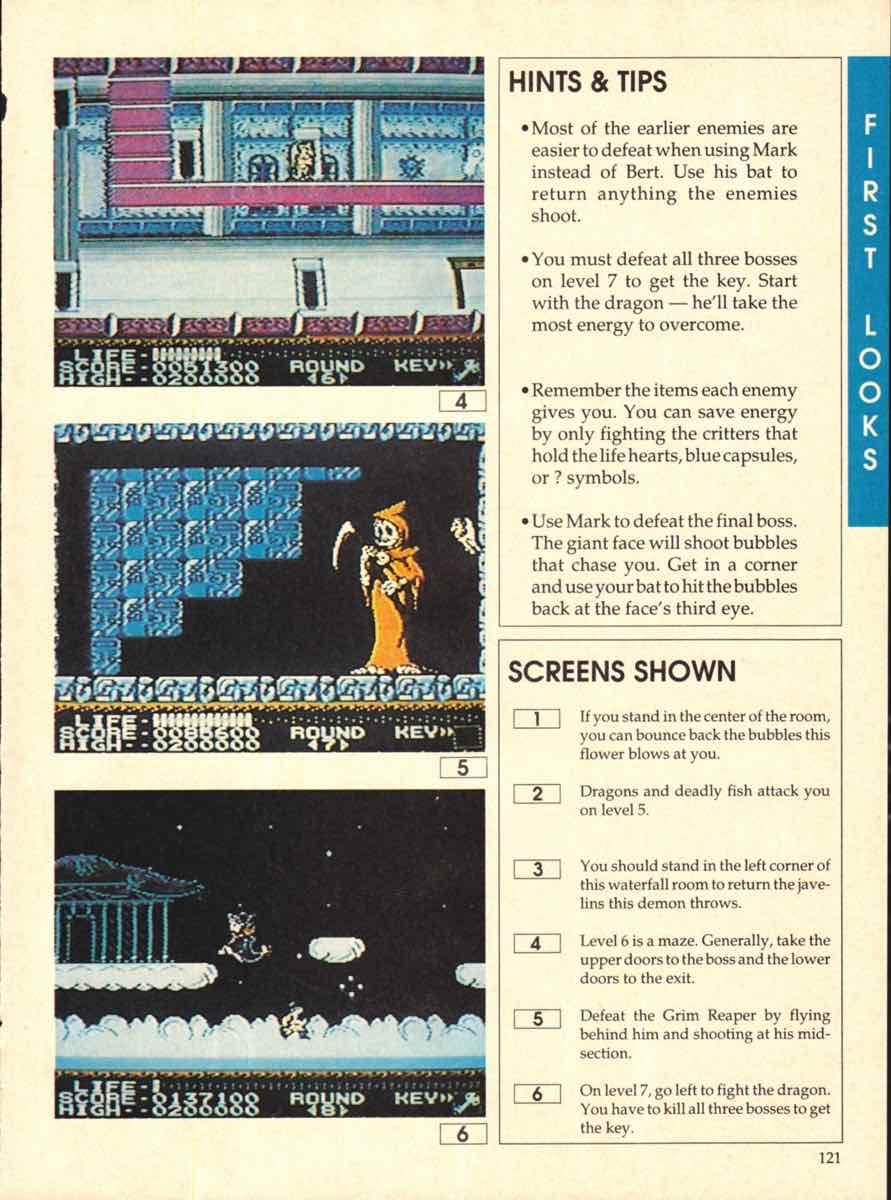 Game Players Buyers Guide To Nintendo Games   October 1989 pg-121