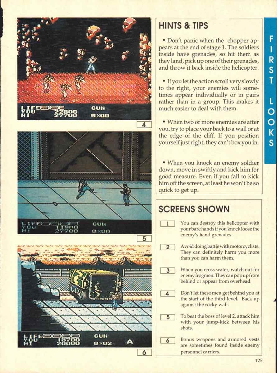 Game Players Buyers Guide To Nintendo Games   October 1989 pg-125