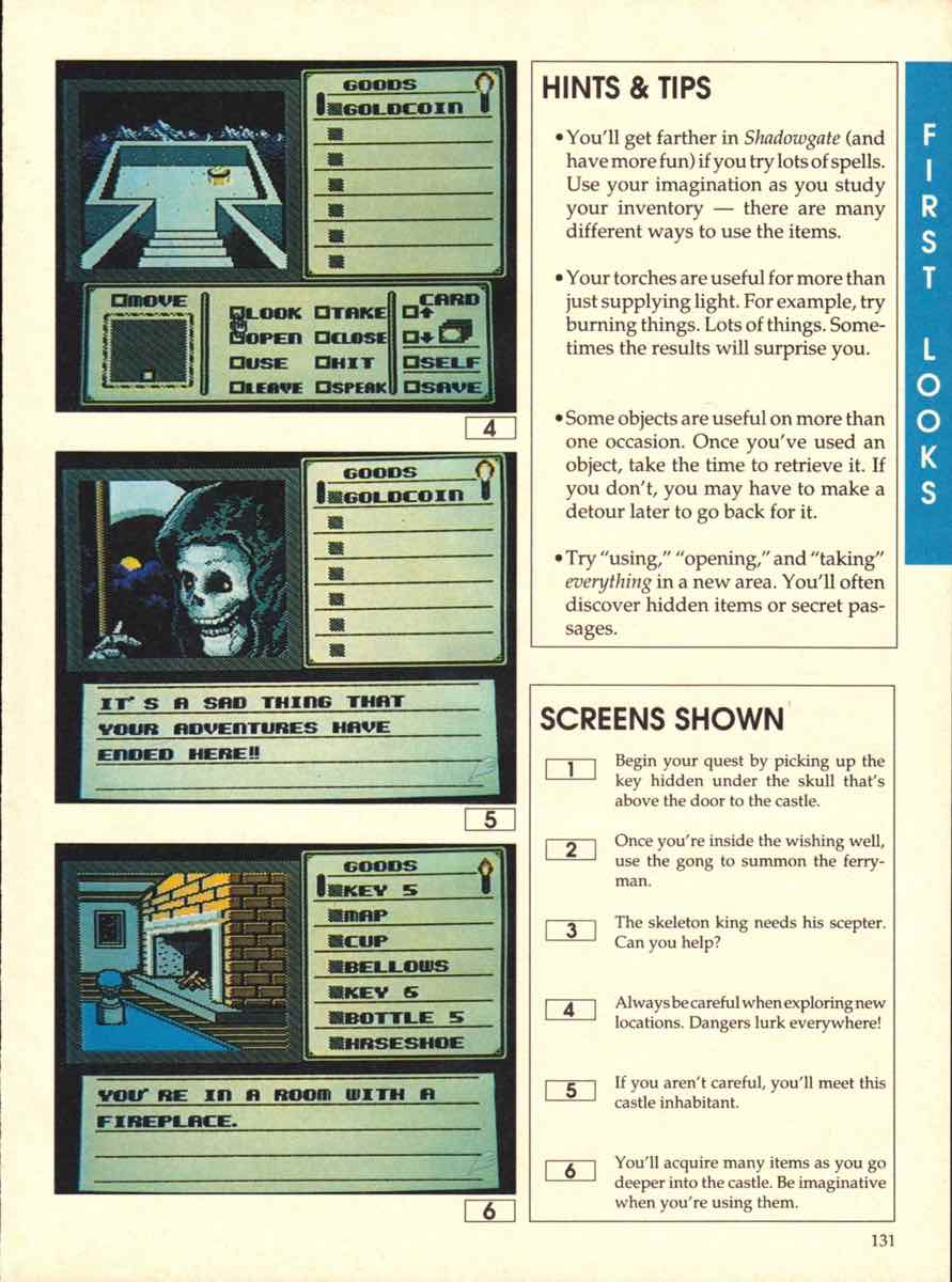 Game Players Buyers Guide To Nintendo Games | October 1989 pg-131