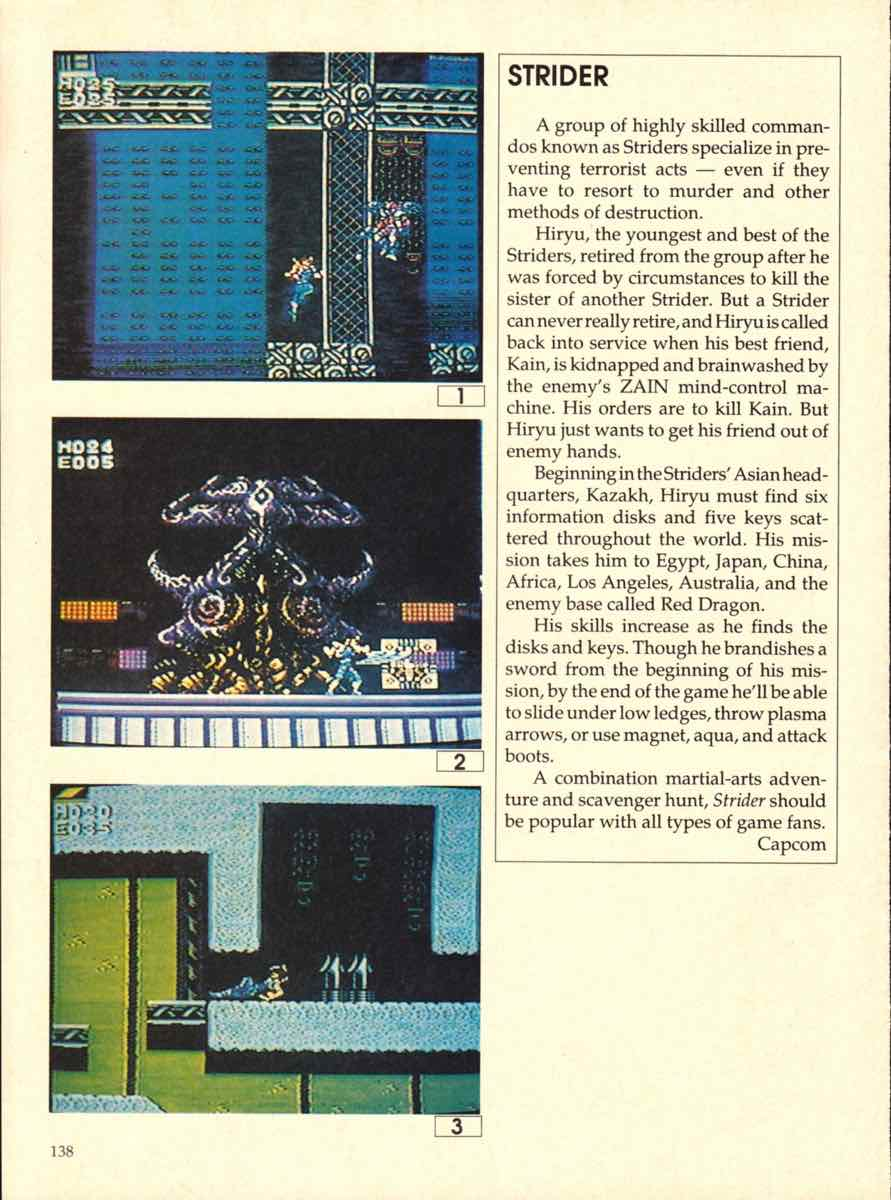 Game Players Buyers Guide To Nintendo Games | October 1989 pg-138