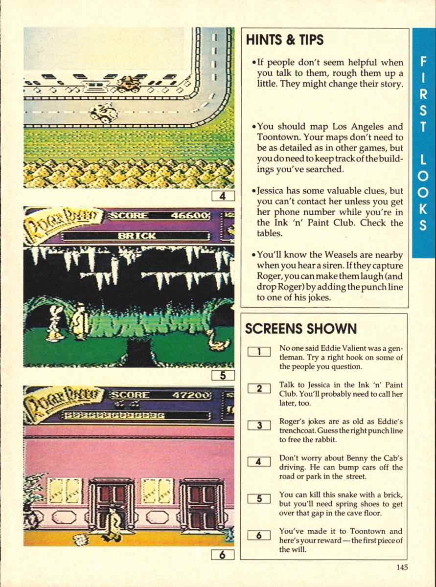 Game Players Buyers Guide To Nintendo Games   October 1989 pg-145