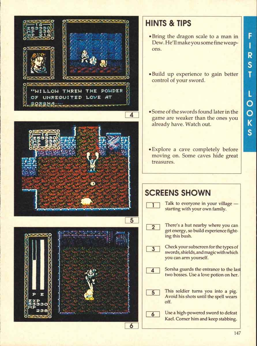 Game Players Buyers Guide To Nintendo Games | October 1989 pg-147
