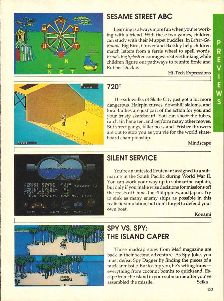 Game Players Buyers Guide To Nintendo Games | October 1989 pg-153
