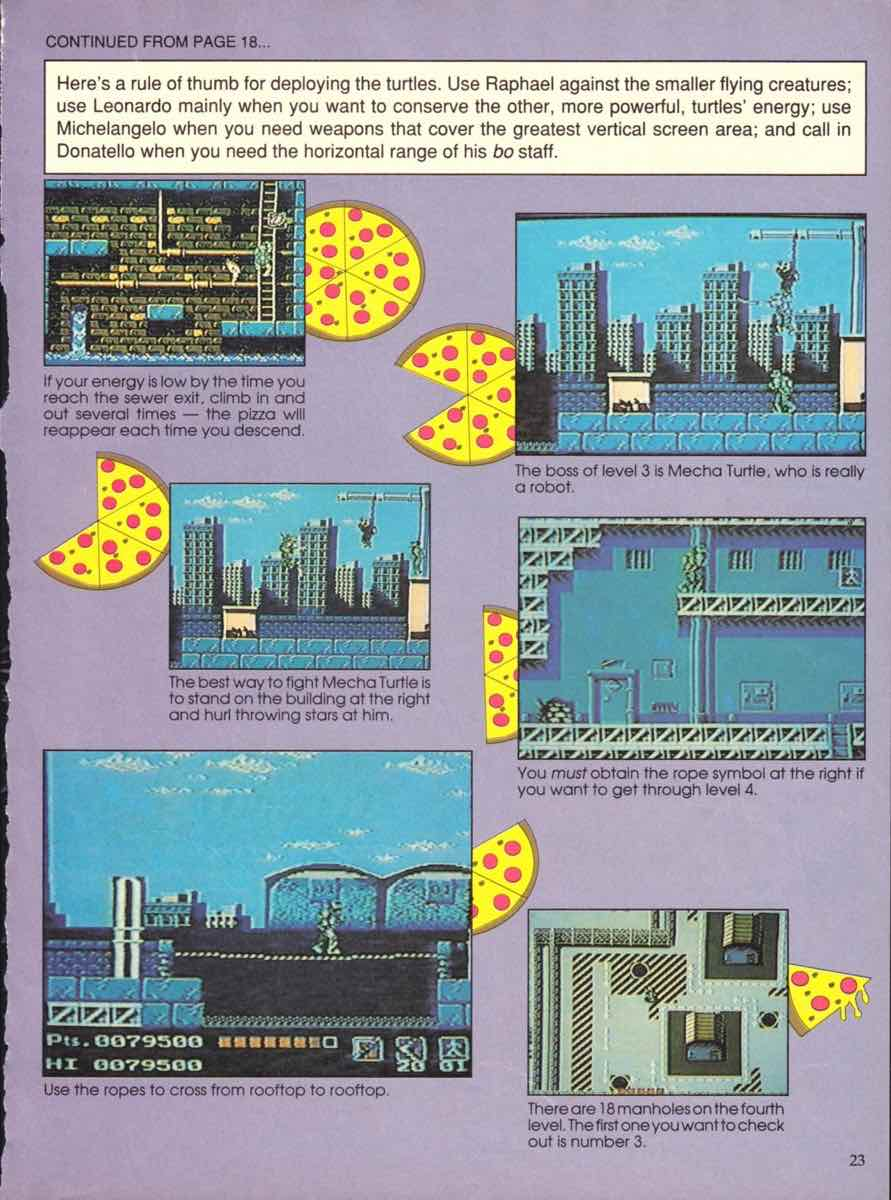 Game Players Buyers Guide To Nintendo Games | October 1989 pg-21