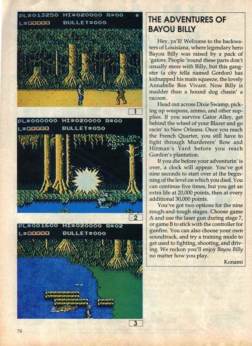 Game Players Buyers Guide To Nintendo Games   October 1989 pg-72