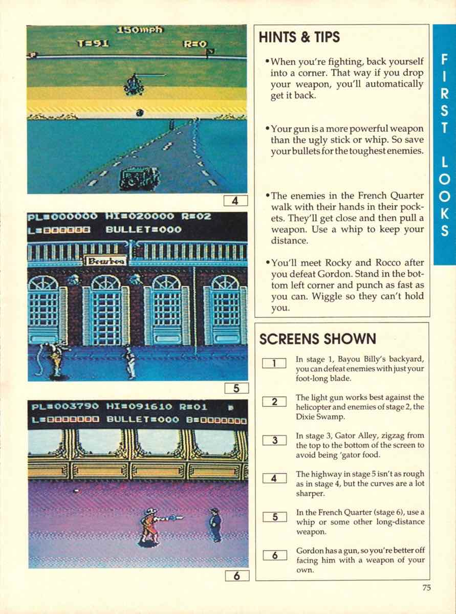 Game Players Buyers Guide To Nintendo Games   October 1989 pg-73