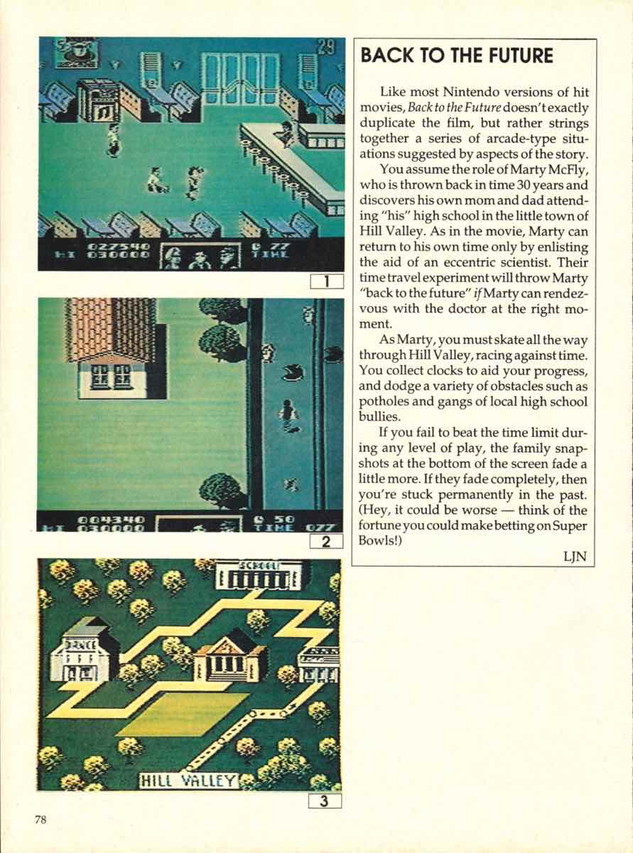 Game Players Buyers Guide To Nintendo Games   October 1989 pg-76