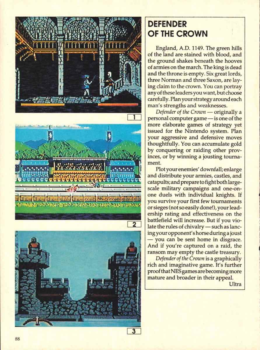 Game Players Buyers Guide To Nintendo Games   October 1989 pg-86