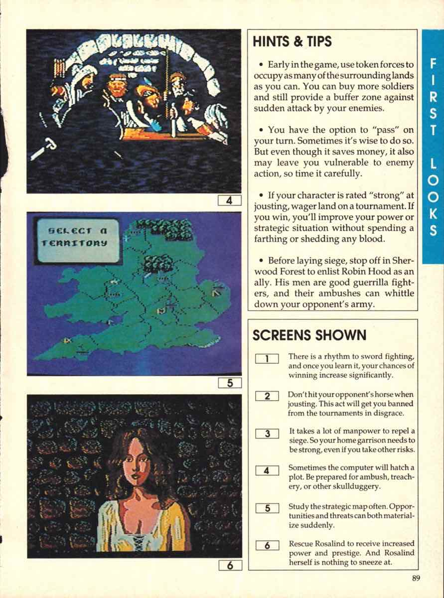 Game Players Buyers Guide To Nintendo Games   October 1989 pg-87