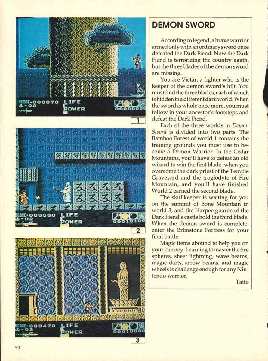 Game Players Buyers Guide To Nintendo Games   October 1989 pg-88