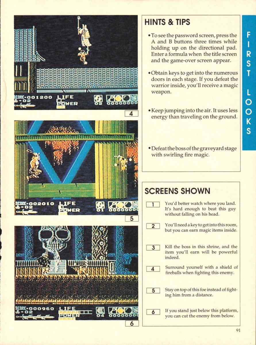 Game Players Buyers Guide To Nintendo Games   October 1989 pg-89