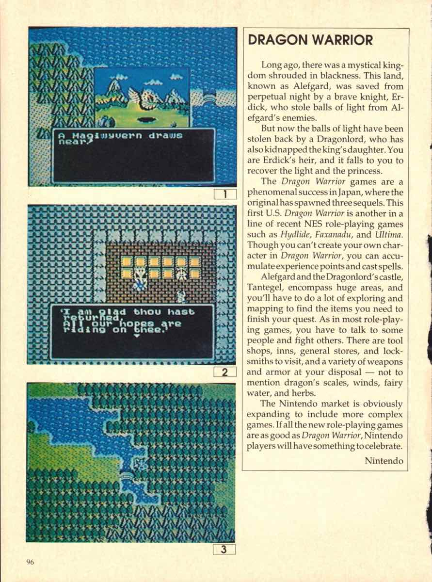 Game Players Buyers Guide To Nintendo Games | October 1989 pg-94