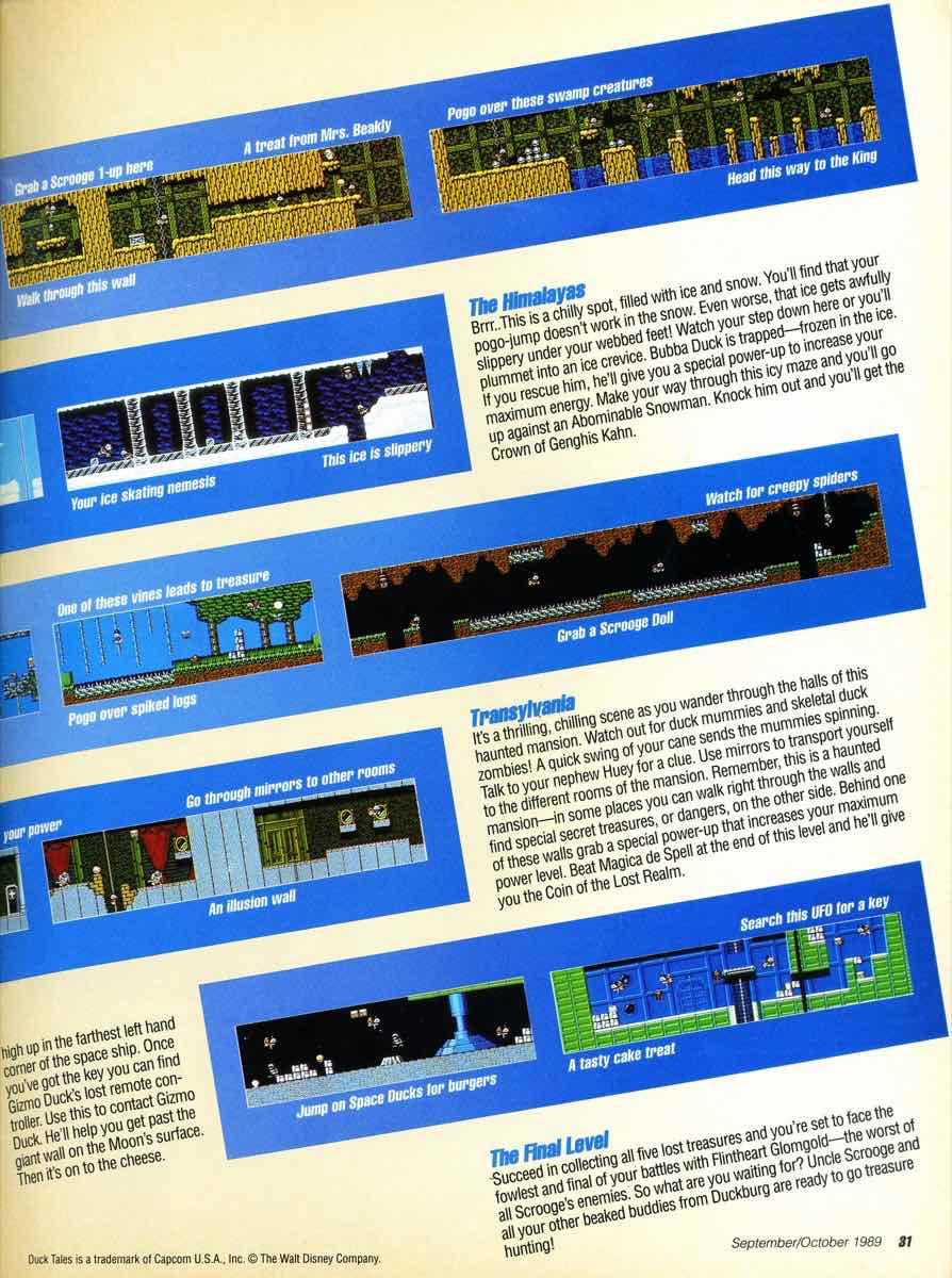 GamePro Issue 003 Setpember-October 1989 page 31