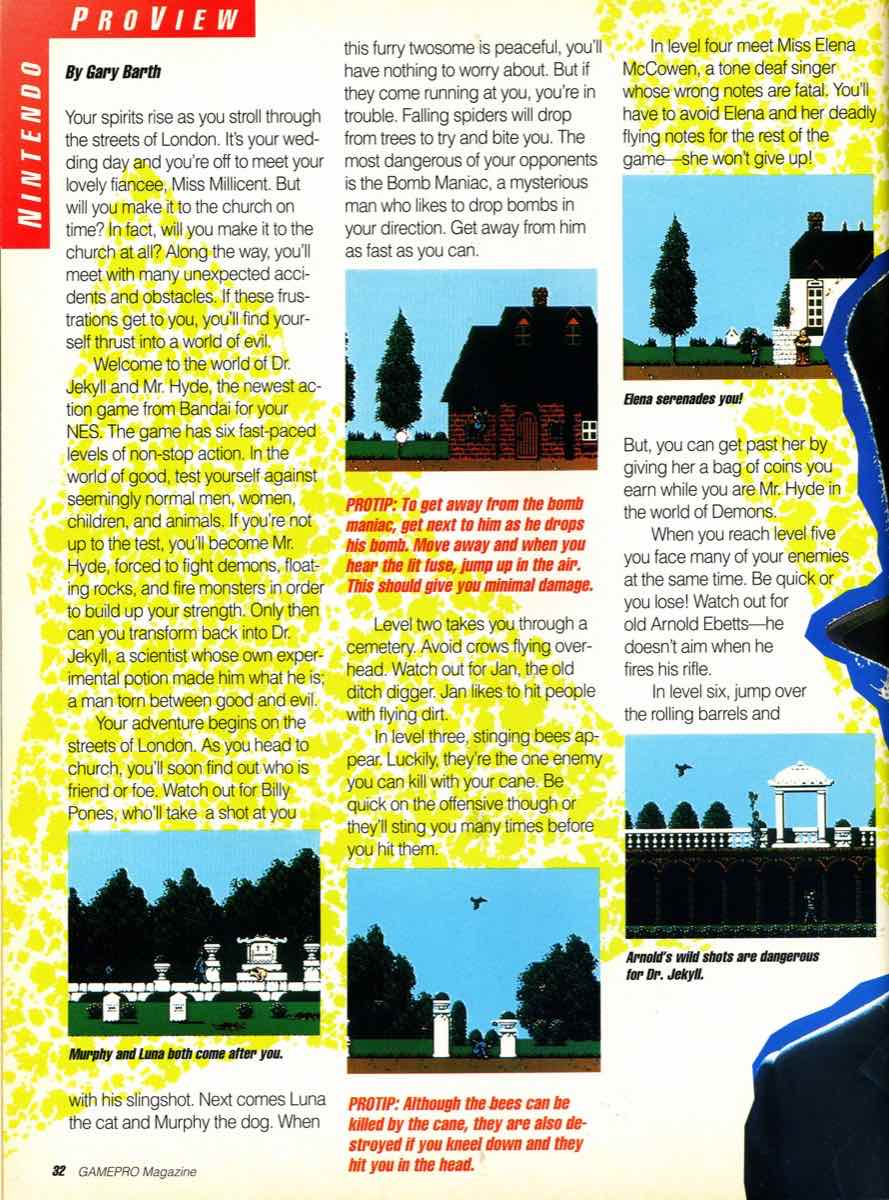 GamePro Issue 003 Setpember-October 1989 page 32