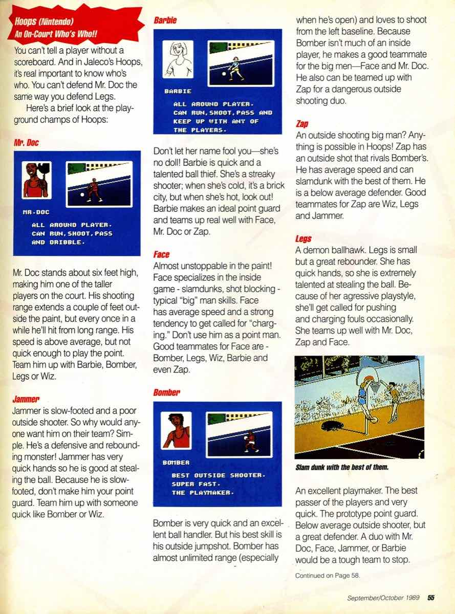 GamePro Issue 003 Setpember-October 1989 page 55