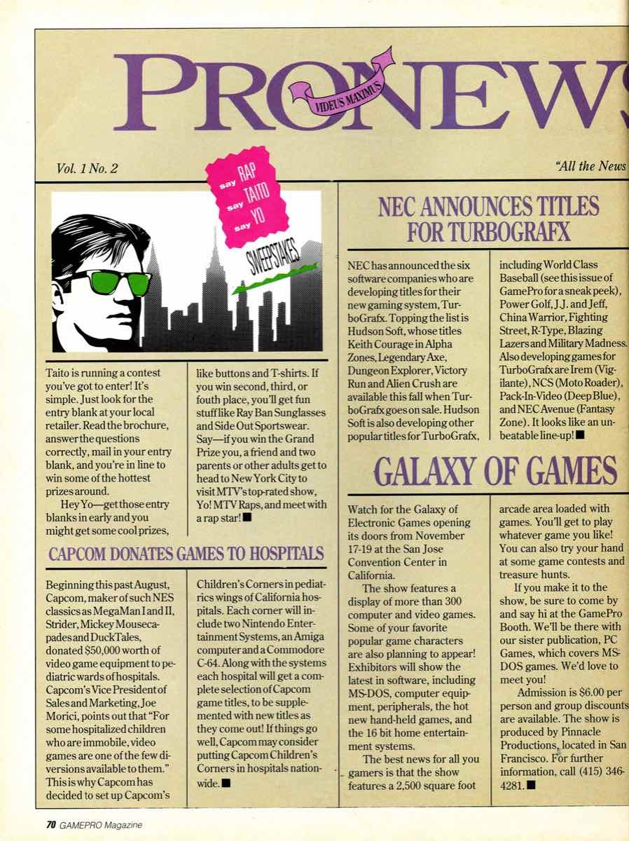 GamePro Issue 003 Setpember-October 1989 page 70