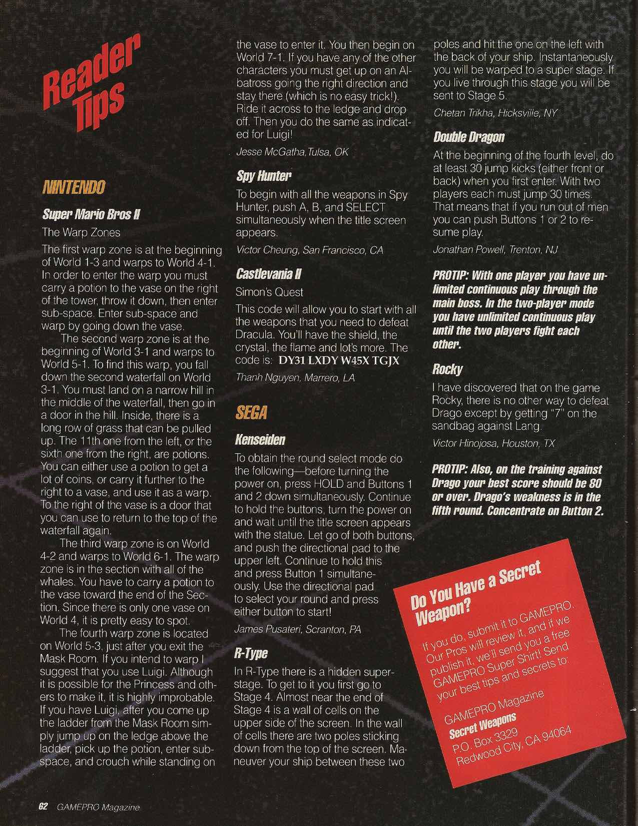 GamePro | July 1989 pg-62