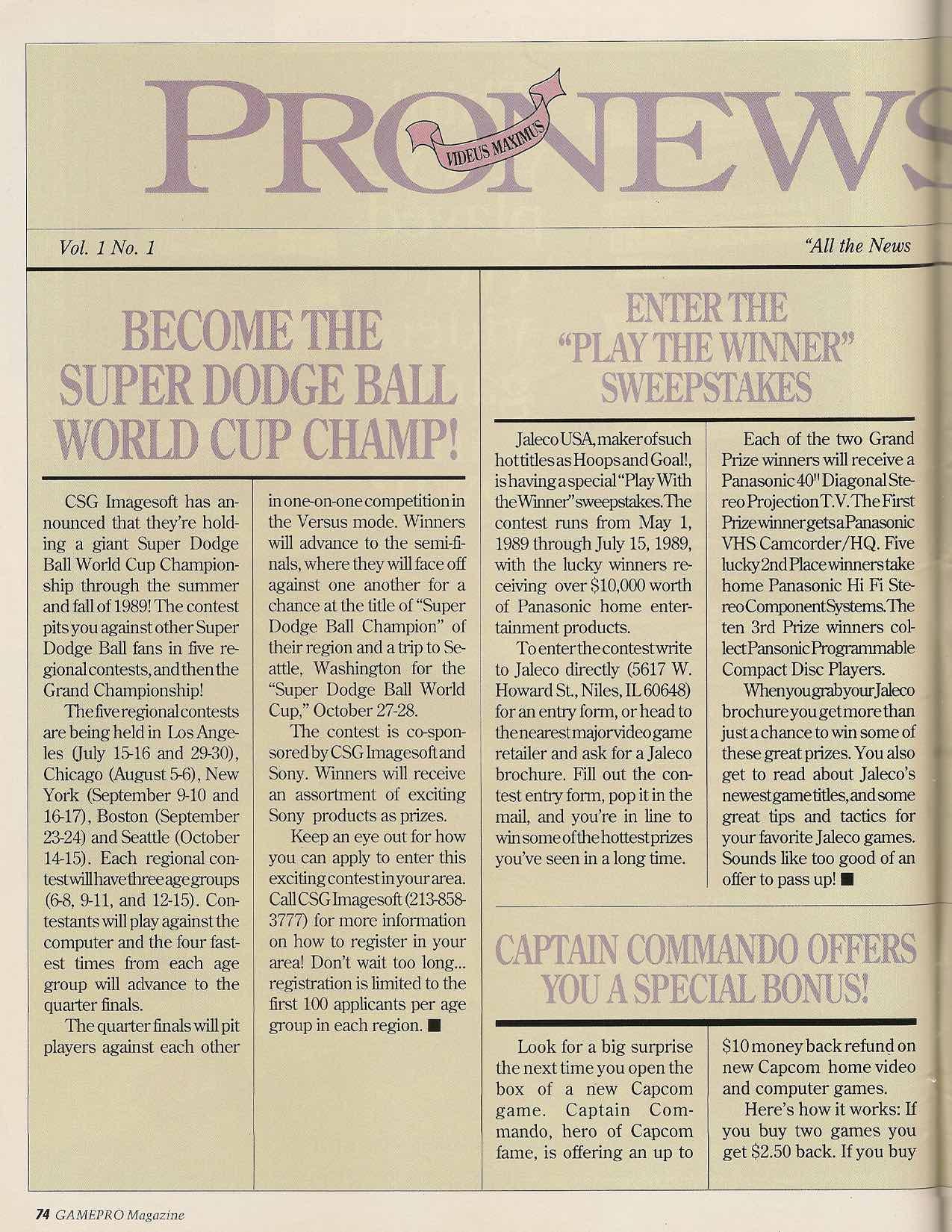 GamePro | July 1989 pg-74