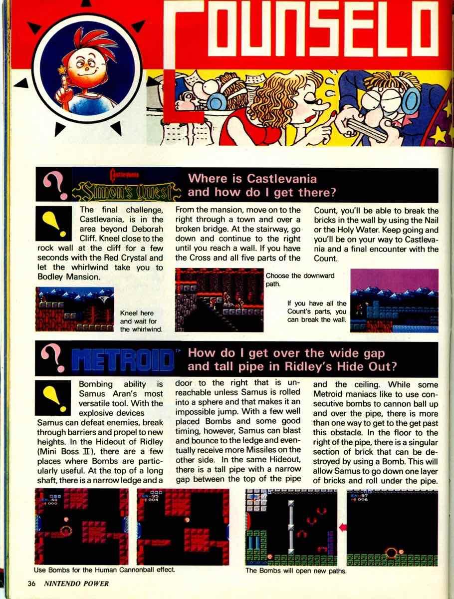 Nintendo Power | September October 1989 pg-36