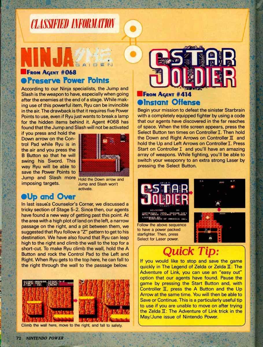 Nintendo Power | September October 1989 pg-72