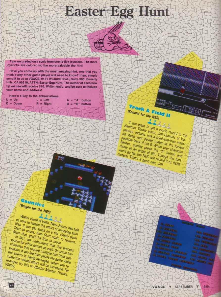 VGCE | September 1989 pg-22