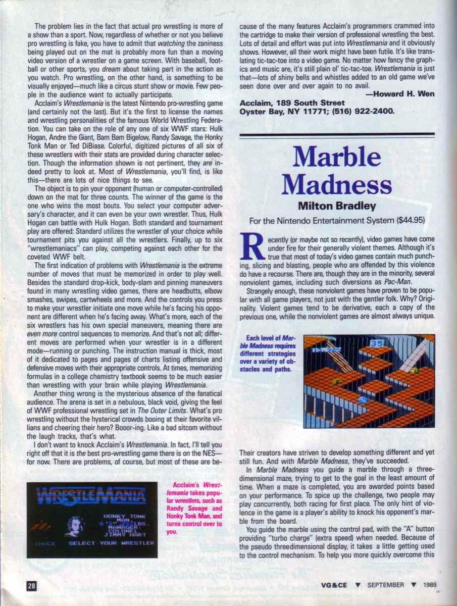VGCE   September 1989 pg-28