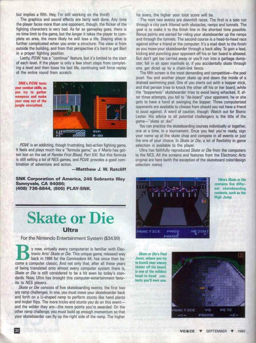 VGCE | September 1989 pg-32