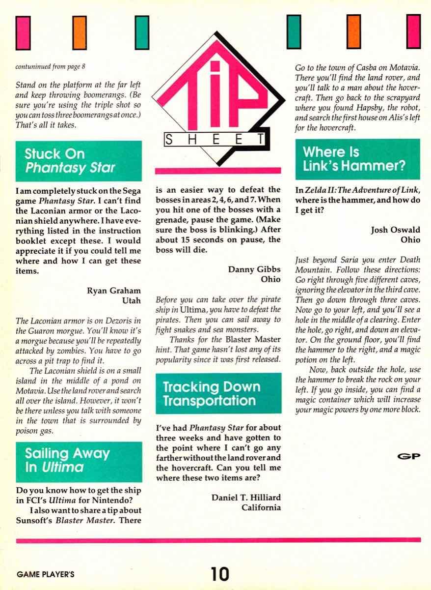 Game Players | November 1989 pg-10