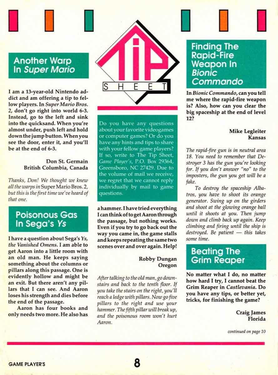 Game Players   November 1989 pg-8