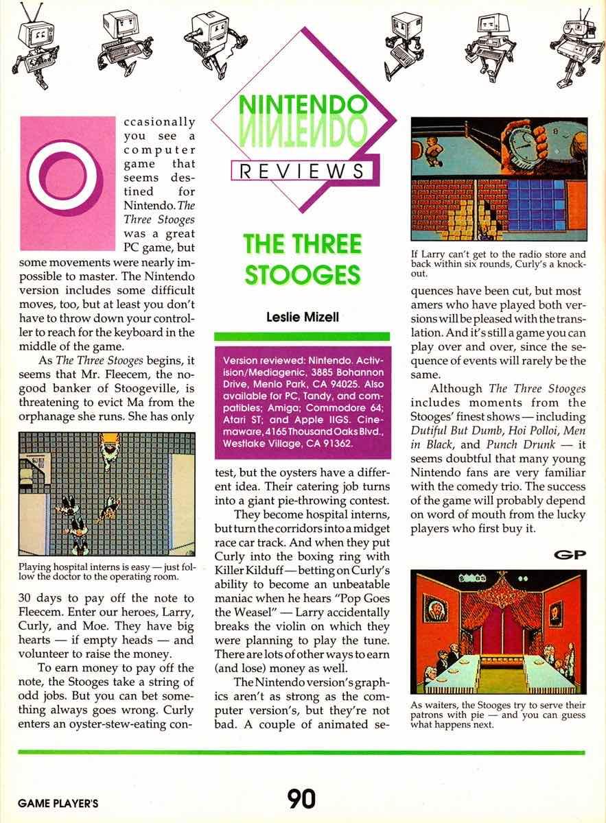 Game Players   November 1989 pg-90