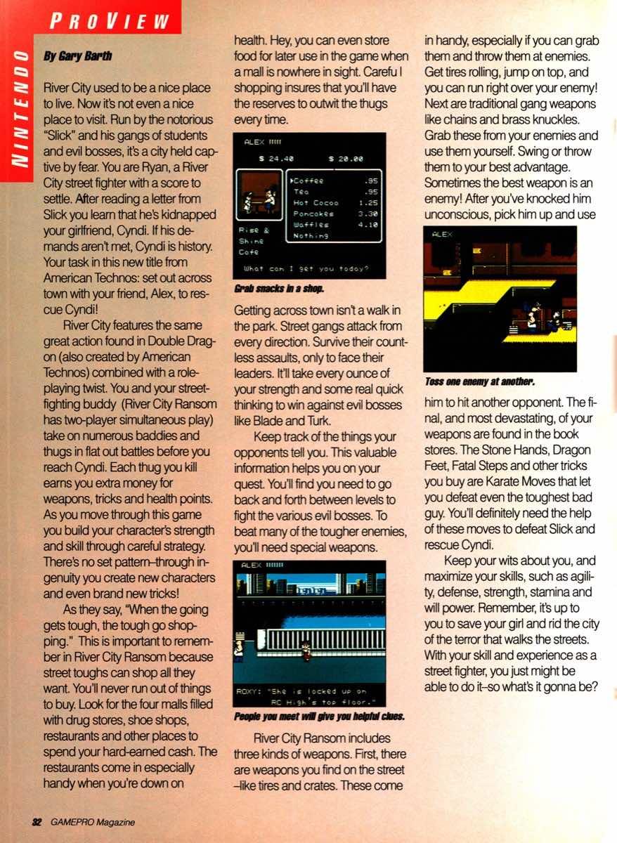 GamePro | November 1989 pg-32