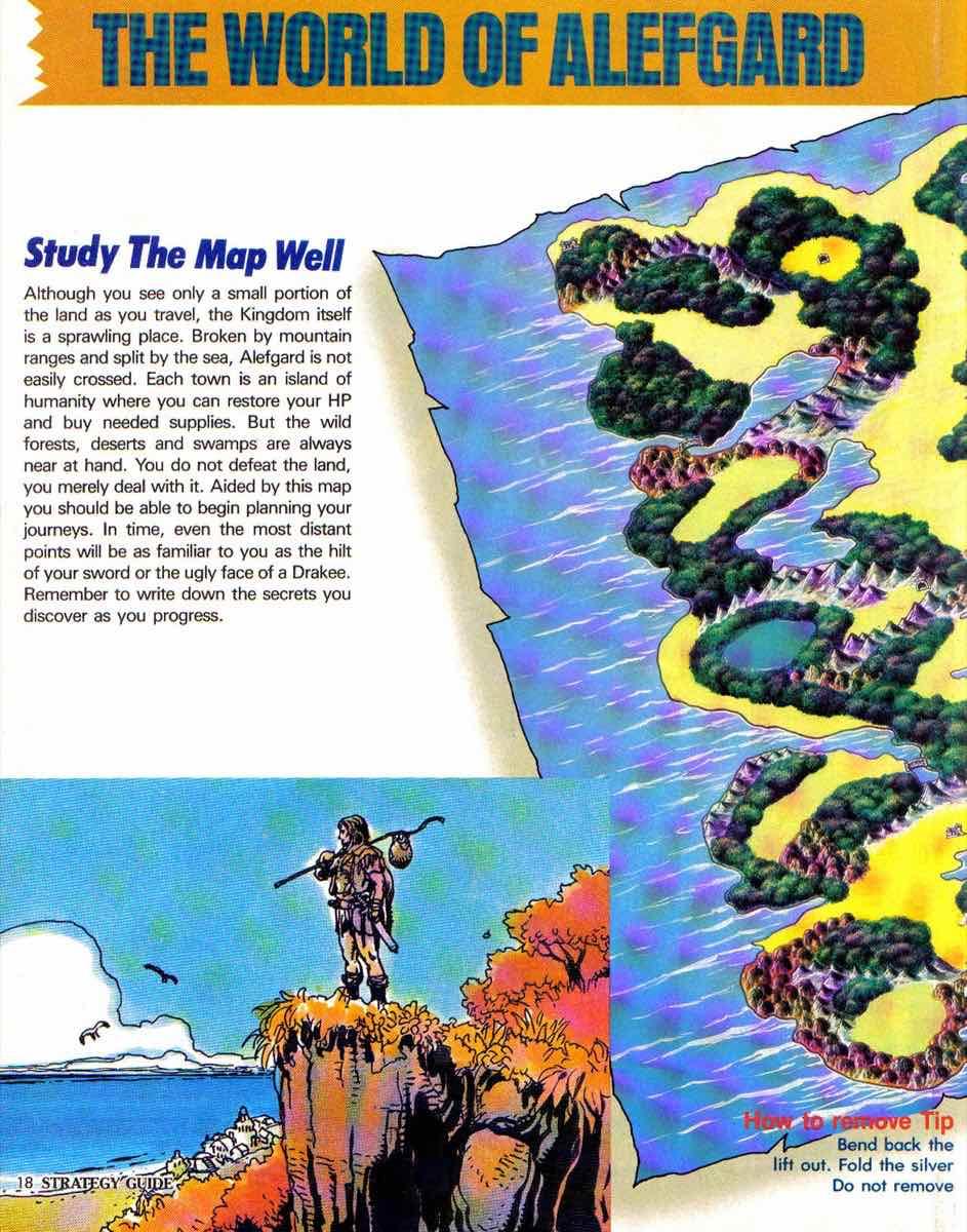 Nintendo Power | November December 1989 | Dragon Warrior Strategy Guide pg-18