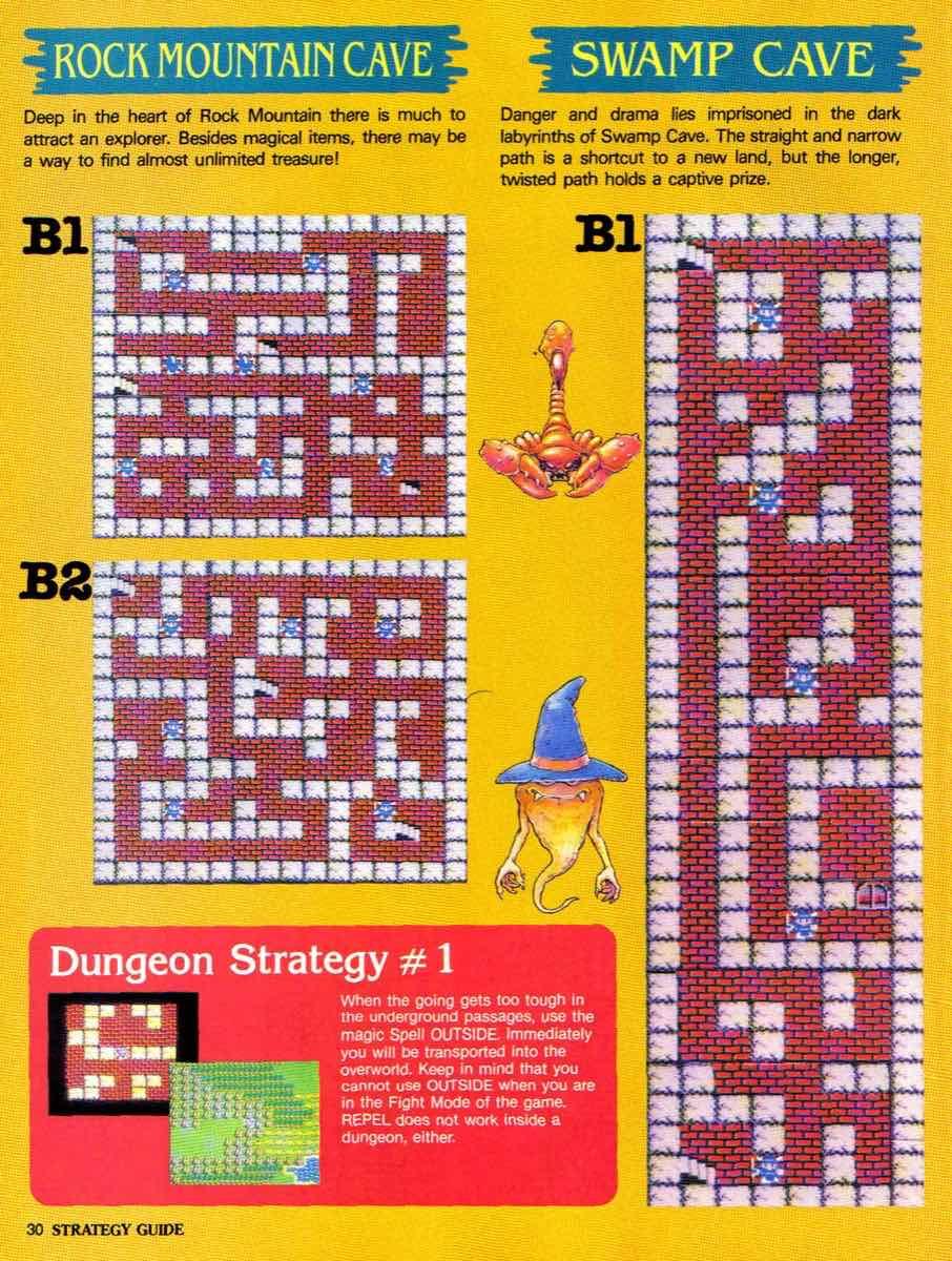 Nintendo Power | November December 1989 | Dragon Warrior Strategy Guide pg-30